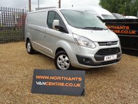 USED 2015 15 FORD TRANSIT CUSTOM 2.2 270 LIMITED L1H1 5d 125 BHP SWB