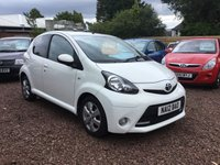 USED 2012 12 TOYOTA AYGO 1.0 VVT-I FIRE MM AC 5d AUTO 67 BHP LADY OWNER LOW MILEAGE AUTOMATIC