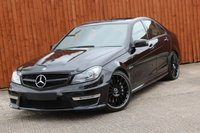 USED 2011 61 MERCEDES-BENZ C 63 AMG 6.2 C63 AMG EDITION 125 4d AUTO 457 BHP