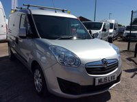 USED 2015 15 VAUXHALL COMBO VAN 1.3 2300 L2H1 CDTI S/S SPORTIVE 90 BHP 1 OWNER FSH NEW MOT AIR CON RACKING FREE 6 MONTH AA WARRANTY INCLUDING RECOVERY AND ASSIST NEW MOT EURO 5 AIR CONDITIONING RACKING BLUETOOTH ELECTRIC WINDOWS REAR PARKING SENSORS ROOF RACK TWIN SIDE LOADING DOORS