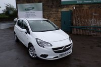 USED 2016 66 VAUXHALL CORSA 1.4 DESIGN ECOFLEX 5d 89 BHP Great Value New Shape Corsa