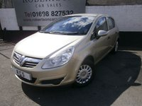 USED 2008 08 VAUXHALL CORSA 1.0 LIFE A/C 5dr LOW MILEAGE AND LOW INSURANCE