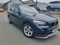USED 2015 15 BMW X1 2.0 SDRIVE16D SE 5d 114 BHP 1 OWNER + BMW HISTORY + LEATHER + HEATED SEATS + AIR CON