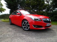 "USED 2016 16 VAUXHALL INSIGNIA 2.0 SRI NAV VX-LINE CDTI ECOFLEX S/S 5d 167 BHP STUNNING EXAMPLE. EXTREMELY HIGH SPEC WITH MANY OPTIONS. SAT NAV. 8""DIGITAL DASH. BLUETOOTH. REAR CAM. 170HP"