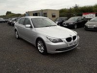 USED 2007 57 BMW 5 SERIES 2.0 520D SE 4d AUTO 175 BHP