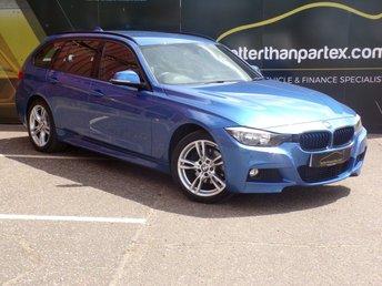 2013 BMW 3 SERIES 2.0 320D XDRIVE M SPORT TOURING ESTATE 5d AUTOMATIC 181 BHP £13950.00