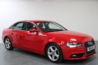 USED 2012 12 AUDI A4 2.0 TDI SE TECHNIK 4d 134 BHP 12 MONTHS MOT PROVIDED ON SALE
