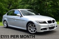 2010 BMW 3 SERIES 2.0 318D M SPORT 4d AUTO. FULL LEATHER SEATS £SOLD