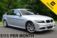 USED 2010 60 BMW 3 SERIES 2.0 318D M SPORT 4d AUTO. FULL LEATHER SEATS