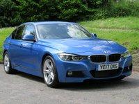 2017 BMW 3 SERIES 3.0 330D M SPORT 4d AUTO 255 BHP £19490.00