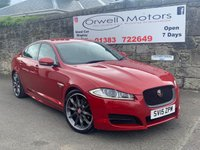 USED 2015 15 JAGUAR XF 2.2 D R-SPORT BLACK 4d AUTO 200 BHP FINANCE AVAILABLE+1 OWNER+FULL SERVICE HISTORY+SATELLITE NAVIGATION+20 INCH ALLOY WHEELS