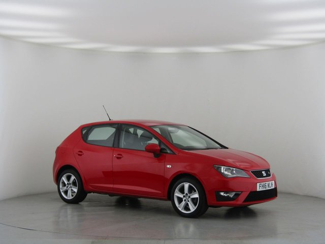 View our 2016 16 SEAT IBIZA 1.2 TSI FR TECHNOLOGY 5d 89 BHP