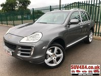 USED 2007 07 PORSCHE CAYENNE 4.8 V8 S TIPTRONIC S 5d AUTO 385 BHP ALLOYS SATNAV LEATHER CRUISE FSH A/C MOT 11/19 PERFORMANCE. 4WD. SATELLITE NAVIGATION. STUNNING GREY MET WITH FULL GREY LEATHER TRIM. ELECTRIC HEATED SEATS. CRUISE CONTROL. 20 INCH ALLOYS. COLOUR CODED TRIMS. PARKING SENSORS. BLUETOOTH PREP. DUAL CLIMATE CONTROL. R/CD PLAYER. MFSW. ROOF BARS. MOT 11/19. FULL SERVICE HISTORY. AGE/MILEAGE RELATED SALE. PRESTIGE SUV CENTRE - LS24 8EJ. TEL 01937 849492 OPTION 1