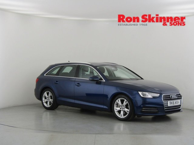 View our 2016 16 AUDI A4 2.0 AVANT TDI ULTRA SPORT 5d 188 BHP