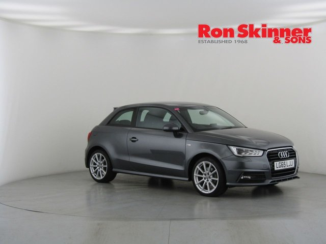 View our 2015 65 AUDI A1 1.4 TFSI S LINE 3d 123 BHP