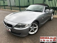 USED 2006 56 BMW Z4 2.0 Z4 SPORT ROADSTER 2d 148 BHP ALLOYS CONVERTIBLE A/C MOT 10/19 NOW SOLD.