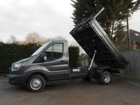 2019 FORD TRANSIT L2 170 Tipper, VFS Bison Body, heated seats ,High Vis Pack Air Con, Tow Axle  magnetic Grey 170 bhp £24750.00