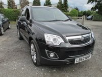 USED 2013 62 VAUXHALL ANTARA 2.2 SE NAV CDTI 4WD 5d AUTO 161 BHP SAT NAV AUTOMATIC FULL LEATHER