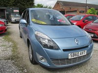 USED 2010 60 RENAULT GRAND SCENIC 1.5 DYNAMIQUE TOMTOM DCI FAP 5d 109 BHP SAT/NAV 7 SEVEN SEATER SERVICE HISTORY