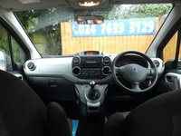 USED 2012 61 PEUGEOT PARTNER 1.6 TEPEE OUTDOOR HDI 5d 92 BHP FSH, AUX, AIR CON