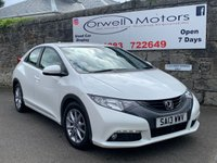 USED 2013 13 HONDA CIVIC 1.8 I-VTEC ES 5d 140 BHP CAR FINANCE AVAILABLE+SERVICE HISTORY+CRUISE CONTROL