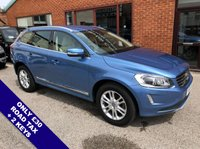 """USED 2015 65 VOLVO XC60 2.0 D4 SE LUX NAV 5DOOR 188 BHP DAB   :   Sat Nav   :   USB & AUX   :   Auto Headlights   :   Car Hotspot / WiFi      Cruise Control   :   Bluetooth   :   Climate Control / Air Conditioning   :   Heated Front Seats      Electric Driver Seat   :   Remotely Operated / Automatic Tailgate   :   Rear Parking Sensors      18"""" Alloys   :   2 Keys   :   Service History"""
