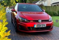 USED 2014 64 VOLKSWAGEN GOLF 2.0 GTI PERFORMANCE DSG 5d AUTO 226 BHP PERFORMANCE PACK DISCOVER NAVIGATION ADAPTIVE CRUISE 400w DYNAUDIO SYSTEM DAB