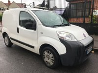 USED 2010 59 FIAT FIORINO 1.2 16V MULTIJET 75 BHP NO VAT JUST 73K FSH NEW MOT+SERVICE INCLUDED