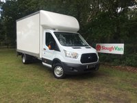 USED 2017 17 FORD TRANSIT 2.2 350 LWB LUTON WITH TAIL LIFT 100PS ULEZ Compliant, Long Wheel Base Luton With Tail Lift