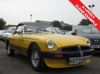 USED 1979 MG MGB 1.8 ROADSTER 2d 97 BHP A USABLE CLASSIC CAR