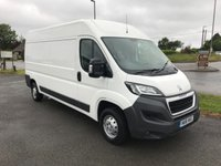 USED 2016 16 PEUGEOT BOXER 335 2.2 HDi 130 L3 H2 LWB Medium Roof