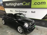 USED 2013 62 MINI CONVERTIBLE 2.0 COOPER SD 2d 141 BHP