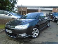 USED 2008 08 CITROEN C5 2.0 EXCLUSIVE HDI 5d 138 BHP 2 FORMER KEEPER+TOP SPEC