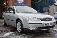 2005 FORD MONDEO 1.8 SILVER 5d 125 BHP £350.00