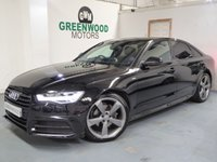 USED 2015 15 AUDI A6 SALOON 2.0 TDI ultra Black Edition S Tronic (s/s) 4dr