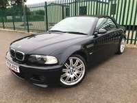 2005 BMW M3 3.2 M3 2d 338 BHP CONVERTIBLE ALLOYS SATNAV LEATHER FSH A/C MOT 06/20 £8990.00