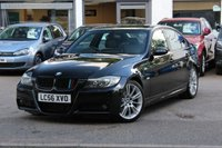 USED 2006 56 BMW 3 SERIES 3.0 330D M SPORT 4d 228 BHP FULL BLACK LEATHER ** CRUISE CONTROL ** FRONT & REAR PARK AID ** BLUETOOTH