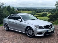 USED 2013 63 MERCEDES-BENZ C CLASS 6.2 C63 AMG 4d AUTO 457 BHP