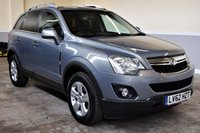 USED 2012 62 VAUXHALL ANTARA 2.2 EXCLUSIV CDTI 2WD S/S 5d 161 BHP Low mileage 2012 Vauxhall Antara 2.2CDTi Exclusiv with half leather and heated seats! PX Welcome, Finance available!
