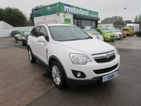 USED 2014 64 VAUXHALL ANTARA 2.2 EXCLUSIV CDTI S/S 5d 161 BHP **FRONT AND REAR PARK SENSORS**