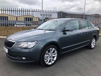 USED 2014 14 SKODA SUPERB 2.0 SE TDI CR 5d 139 BHP