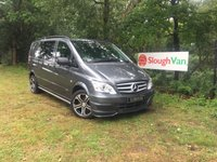 USED 2013 63 MERCEDES-BENZ VITO 3.0 122 CDI DUALINER SPORT-X COMPACT Automatic, Heated Front Seats, Full Leather, Sat Nav