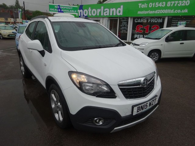 USED 2015 15 VAUXHALL MOKKA 1.6 TECH LINE S/S 5d 114 BHP ***TEST DRIVE TODAY***JUST ARRIVED..01543 877320....