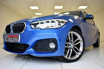 2016 BMW 1 SERIES 120D 2.0 M SPORT 3 DOOR AUTOMATIC £16495.00