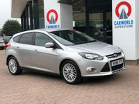 USED 2014 64 FORD FOCUS 1.6 ZETEC TDCI 5d 113 BHP ALLOYS | PRIVACY GLASS |