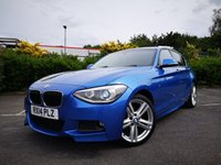 2014 BMW 1 SERIES 2.0 120D XDRIVE M SPORT 5d £9000.00