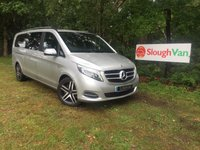 USED 2015 15 MERCEDES-BENZ V CLASS 2.1 V250 BLUETEC SPORT 190BHP X-LONG 8 SEAT Electric Side Doors, Euro 6 ULEZ Compliant, Power Tailgate