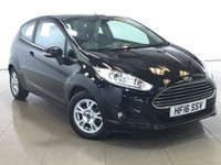USED 2016 16 FORD FIESTA 1.5 ZETEC ECONETIC TDCI 3d 94 BHP 1 OWNER | BLUETOOTH | DAB |