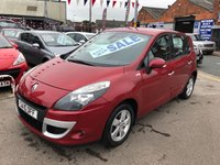 USED 2010 10 RENAULT SCENIC 1.5 DYNAMIQUE TOMTOM DCI 5d 105 BHP *** PAYMENTS LOW AS £72 A MONTH! *** 12 MONTHS WARRANTY! ***