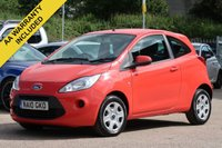 USED 2010 10 FORD KA 1.2 EDGE 3d 69 BHP 3 MONTHS AA WARRANTY INCLUDED